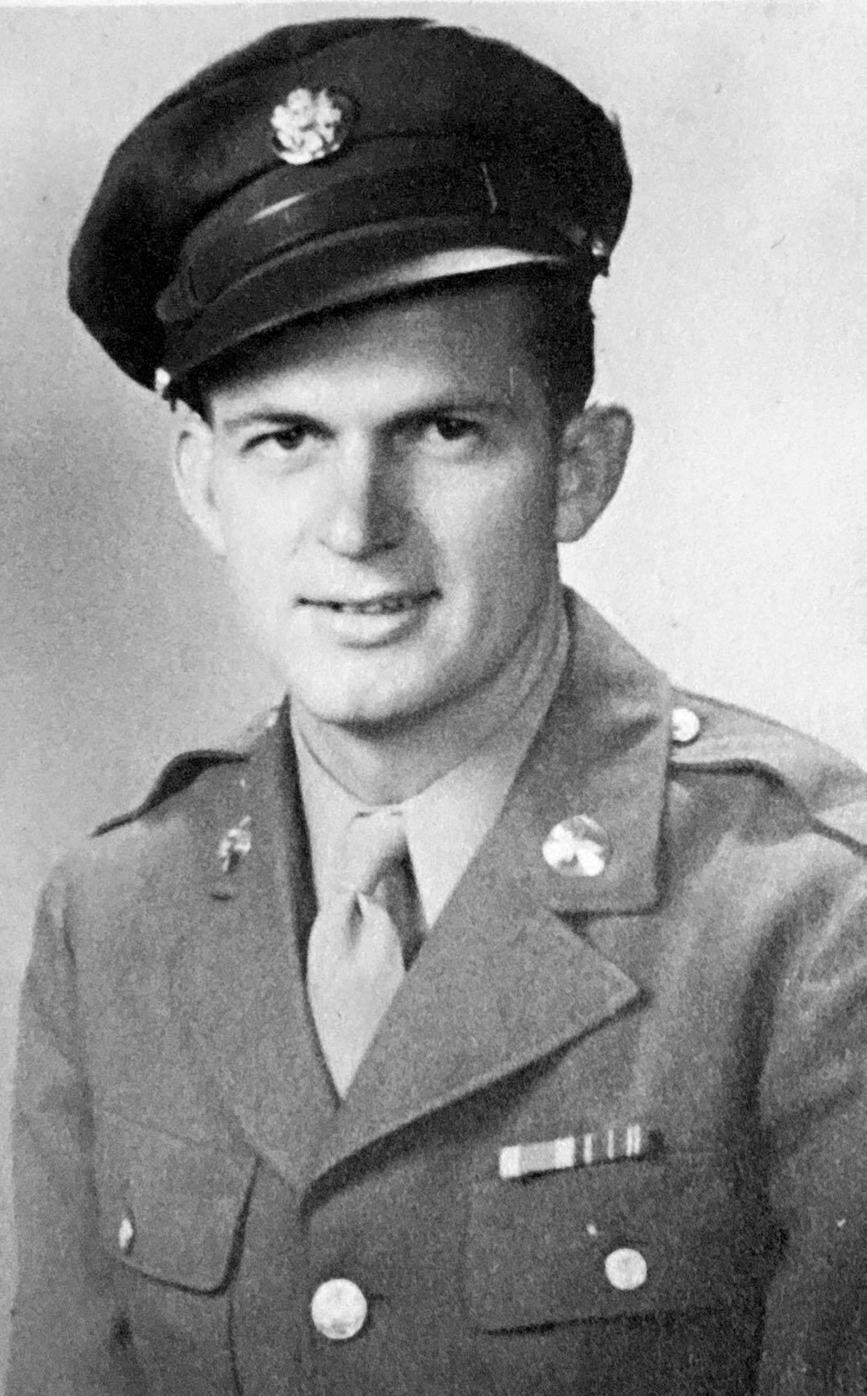 Raymond Odom, U.S. Army Air Forces veteran, joined the service during World War II on Feb. 23, 1943. In early May of 2016, a groundsman from RAF Hontington, England, found a dog tagthat belongied to Odom while metal detecting on what use to be known as RAF Knettishall, England. The tags are being returned to their rightful owner. (Courtesy photo)