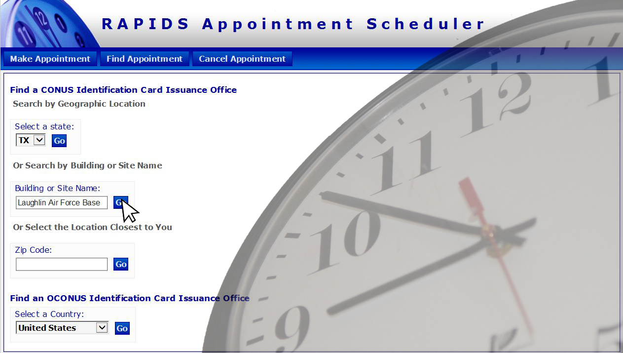appointments are getting easier at the military personnel section