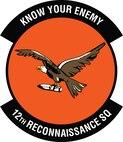12th Reconnaissance Squadron patch