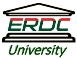 ERDC University is a professional development initiative of the Directorate of Human Capital. EU has two goals: provide USACE engineers and scientists the opportunity to serve as a member of an interdisciplinary research and development team working on real-world solutions; and transition technologies throughout USACE to strengthen the technical knowledge base.