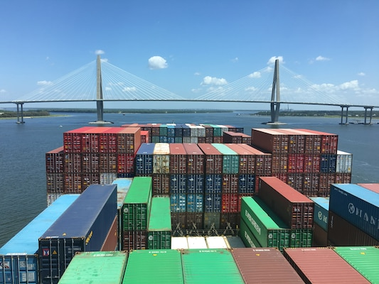The Charleston District is working with the Charleston Harbor Pilots on the final design of the Charleston Harbor Post 45 Deepening Project. The Harbor Pilots are the only ones authorized to guide a container ship into the harbor, so their input is integral to the process.