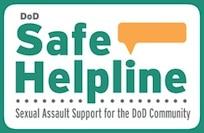 DoD Safe Helpline graphic. (Courtesy Image)