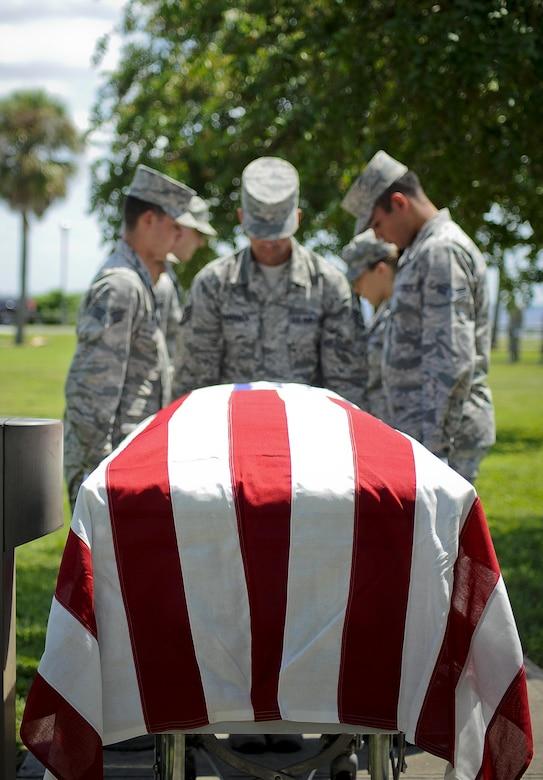 Us Air Force Honor Guard Instructors Train Macdill Base Honor