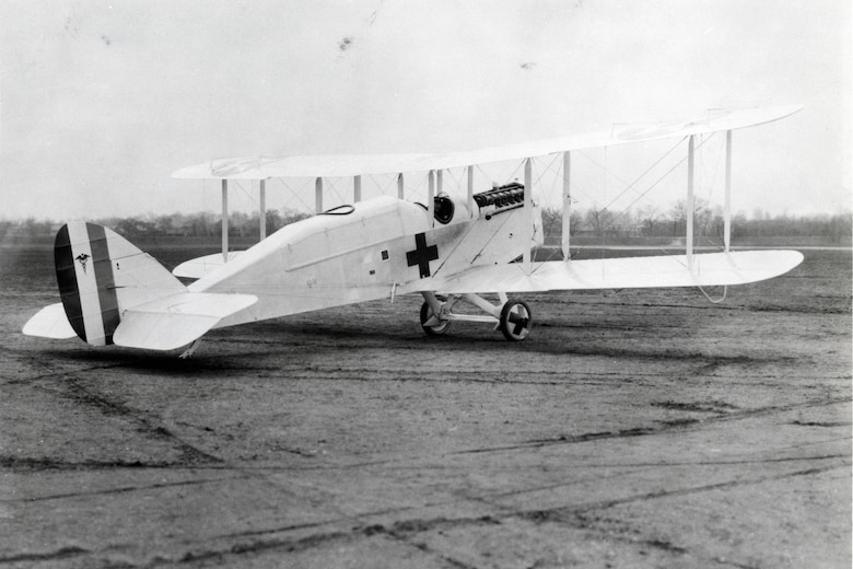 A 1920 ambulance version designated the DH-4AMB-2.