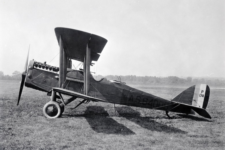 DAYTON, Ohio -- DH-4B at McCook Field in Dayton, Ohio.