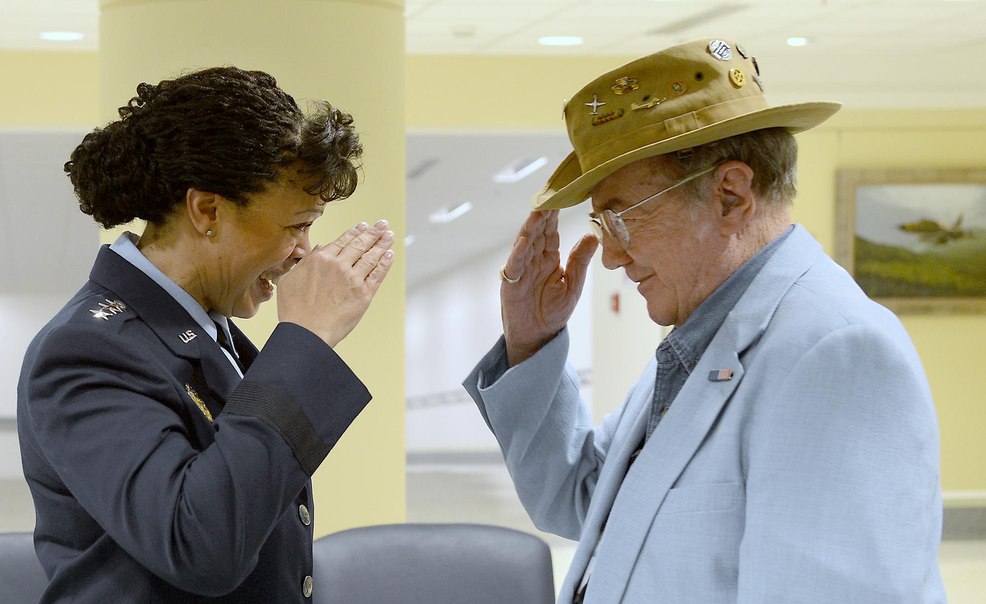 Caribou Vietnam vets honored at Pentagon > U S  Air Force