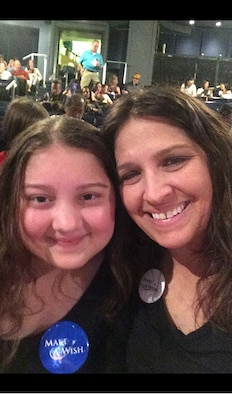 Caitlin and Renee Butcher pose for a picture Aug. 23, 2016, during their trip to New York City. Caitlin has had an undiagnosed illness since December 2015 and was accepted into the Make A Wish Foundation. Her and her family received a trip to New York City to see Wicked on Broadway, Statue of Liberty, Central Park, Empire State Building and the American Museum of Natural History. (Courtesy photo)