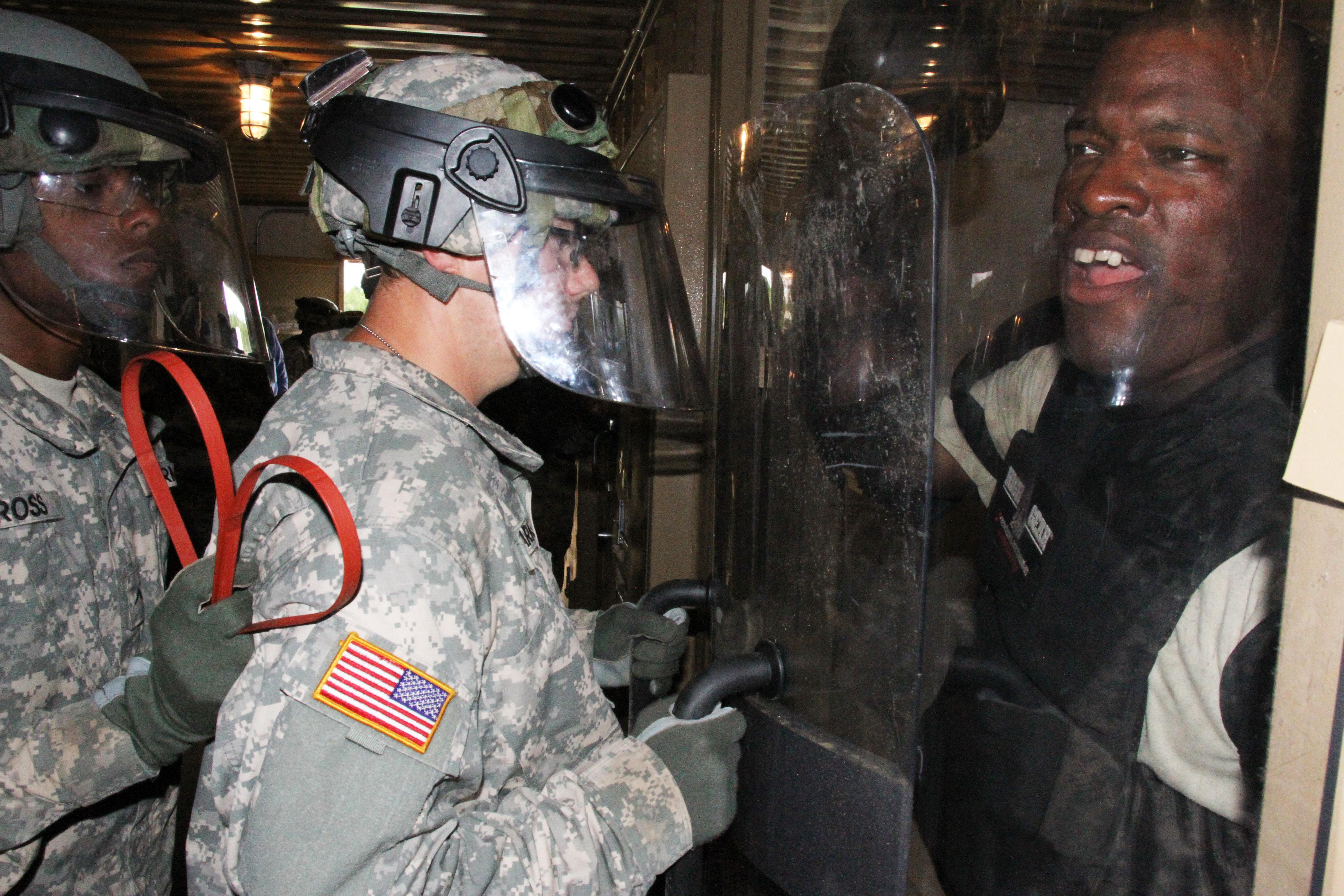 Military Police Train For Gitmo Through Cstx