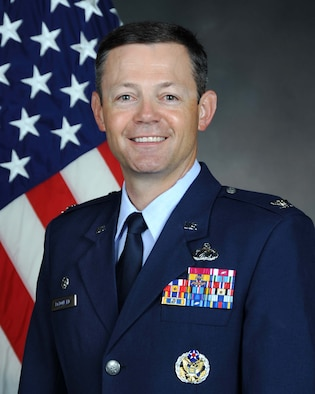 Col. Bradley McDonald, Commander, 88th Air Base Wing, Wright-Patterson Air Force Base, Ohio
