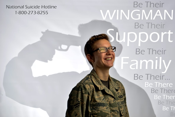 September is National Suicide Prevention and Awareness Month. This year, the Department of Defense is focusing its efforts on people connecting with one another to foster relationships and promote support for one another. (U.S. Air Force photo illustration by Staff Sgt. Natasha Stannard)