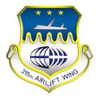 315th Airlift Wing Joint Base Charleston