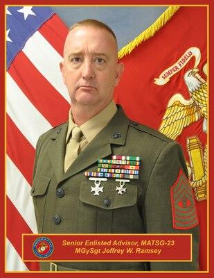 master gunnery sergeant jeffrey w ramsey training command