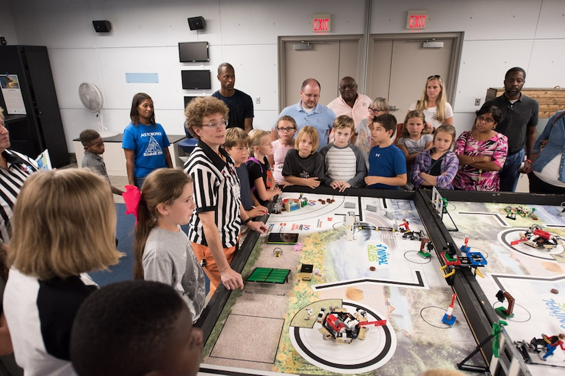 "Approximately 350 students attended the 2016 Charleston Area Regional ""FIRST LEGO League (FLL) Kick-off"" on September 6, at the South Carolina Aquarium.  The event was presented by the South Carolina FLL, SPAWAR Systems Center (SSC) Atlantic and South Carolina Aquarium in collaboration with Boeing and Hanahan Recreation and Parks. The mission of For Inspiration and Recognition of Science and Technology (FIRST) is to inspire young people to become science and technology leaders."