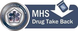 The Military Health System's prescription Drug Take Back program logo. DoD graphic