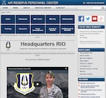 In an effort to make it easier for Individual Reservists to locate and access career information and resources, Headquarters RIO released a redesigned version of their website earlier this month. The new site is available at www.arpc.afrc.af.mil/hqrio.aspx.