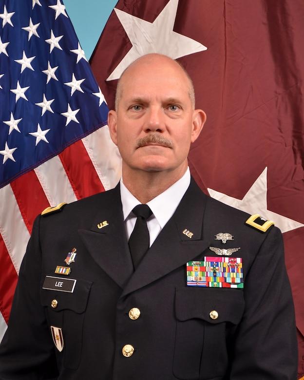 Maj. Gen. William Lee, Commanding General, 3D Medical Command (Deployment Support)
