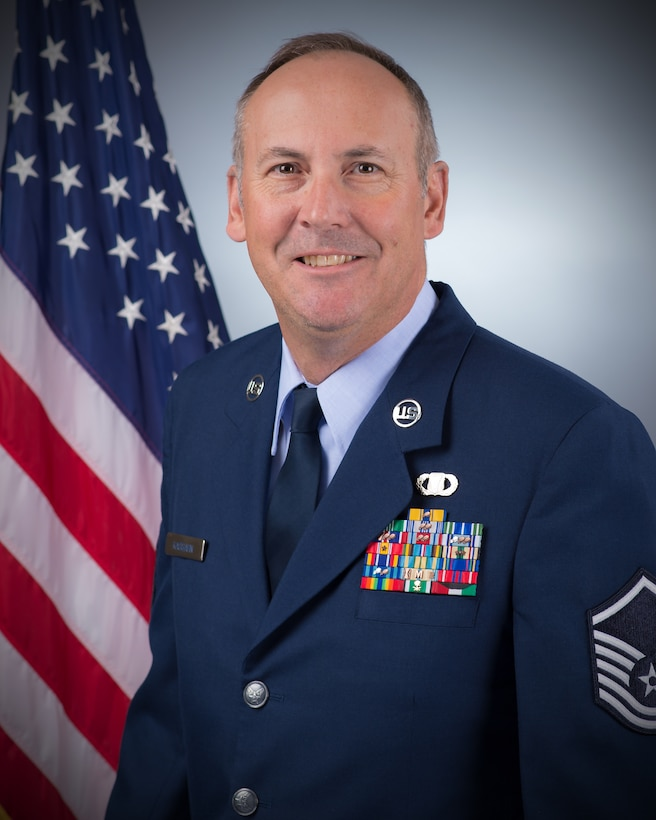 James Kassahn, of Burns, Wyoming, was promoted to master sergeant in the Wyoming Air National Guard Sept. 10.  Kassahn is a command post technician with the 153rd Airlift Wing and has been a member of the Wyoming Air National Guard for 25 years.  Kassahn previously served as a UH-1 helicopter mechanic with the Wyoming Army National Guard and deployed with the 1022nd Medical Company, 3rd Armor Division during Desert Shield/Storm.