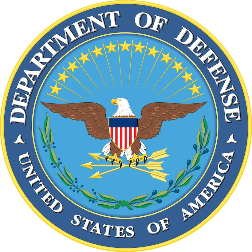 Department of Defense seal. DoD graphic