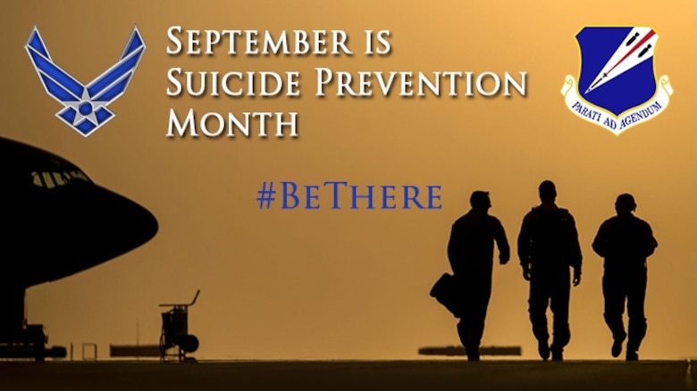 Every Citizen Airman of the Missouri Air National Guard's 131st Bomb Wing plays a role in suicide prevention.  #BeThere