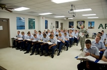 7th WOT Military Studies classes conclude the seventh week of training in preparation for the end of course written test.