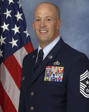 354th Fighter Wing Command Chief, Chief Master Sgt. Brent Sheehan