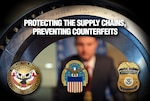 DLA is working with partners at DHS to stop counterfeiters.
