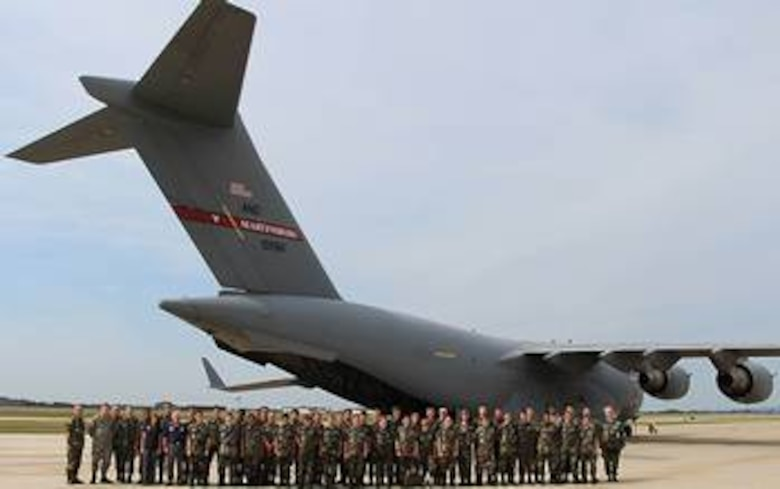 Fifty members of the Virginia and West Virginia Civil Air Patrol wings recently took wing on a Boeing C-17 Globemaster III, thanks to the West Virginia Air National Guard's 167th Airlift Wing in Martinsburg, W.V. (Photo by U.S. Air Force Staff Sgt. Jodie Witmer)