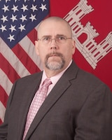 Official Photo of Jeffery D. Burgess Chief, Contracting Division Mobile District