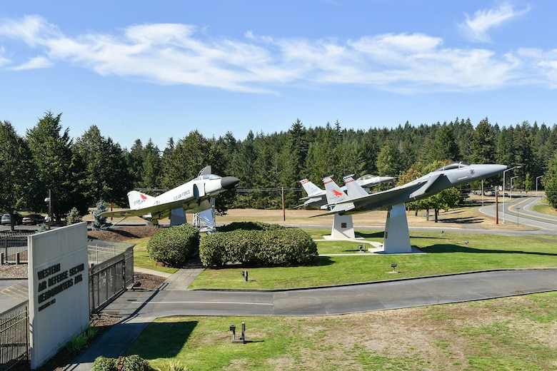 The Western Air Defense Sector adds a McDonald Douglas F-15A Eagle static display to the WADS Air Park.  The F-15 joins the General Dynamics F-16 Fighting Falcon, McDonald Douglas F-4 Phantom II, and FPS-26A Height Finder Radar.  The WADS has been guarding America's skies in the same building 24/7 since 1960 and regularly uses F-15 alert aircraft to perform its mission. (U.S. Air National Guard photo by Capt. Kimberly D. Burke)