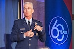 Air Force Gen. Paul J. Selva, vice chairman of the Joint Chiefs of Staff, delivers remarks during an event commemorating the Defense Science Board's 60th anniversary and celebrating Defense Department innovation in Arlington, Va., Sept. 20, 2016. DoD photo by Army Sgt. James K. McCann