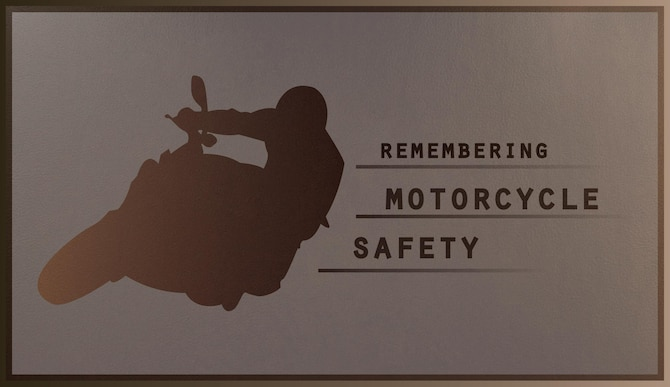 As Yokota motorcyclists enjoy the last of the riding season, it is important to remember the principles of safety that come with the territory. (U.S. Air Force graphic by Airman 1st Class Elizabeth Baker/Released)