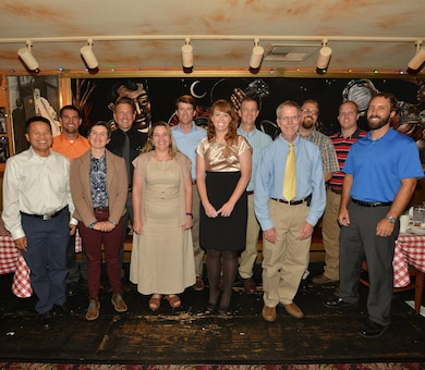 FRANKLIN, Tenn. (Sept. 14, 2016) – Lt. Col Stephen F. Murphy, Nashville District commander, commended a group of 13 graduates of the 2016 Leadership Development Program class today at the Buca di Beppo restaurant in Franklin, Tenn.