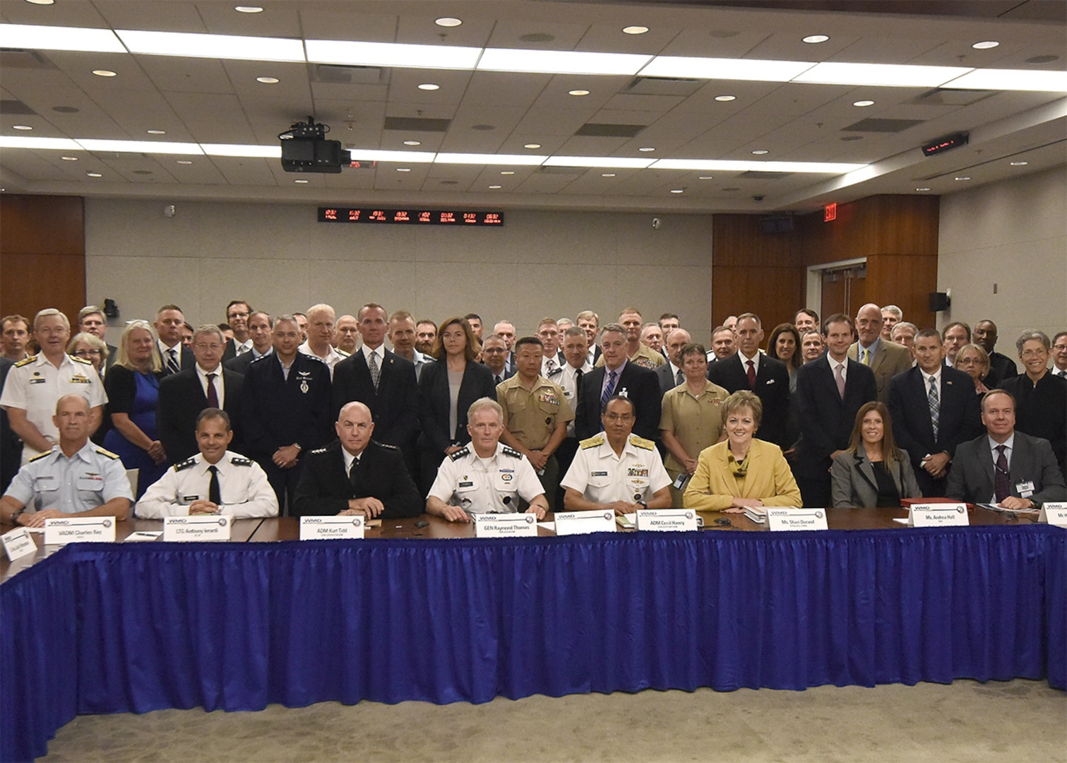 Combatant commanders, senior officials from the Department of Defense and other parts of the U.S. government, and WMD experts and senior leaders from partner nations gathered at the 15th CWMD Global Synchronization Conference to discuss the latest challenges and opportunities we have to reduce or eliminate weapons of mass destruction around the world, and provide updates on current CWMD efforts.