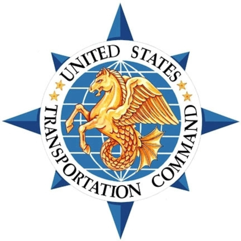 U.S. Transportation Command emblem. DoD graphic