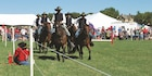 Commanding General's Mounted Color Guard at Fall Apple Day Festival Sept. 10.