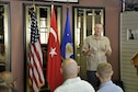 Col. Todd Stratton, 39th Mission Support Group commander, took time during his visit to Izmir to meet and speak with Airmen during a commander's call Sept. 16, 2016. Stratton addressed a wide range of issues and sought out Airmen's views on mission-related issues and other concerns. (Photo by Tanju Varlıklı)