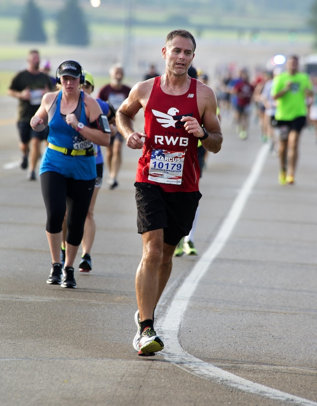 Scenes from the 2016 Air Force Marathon weekend at Wright-Patterson Air Force Base, Sept. 15-17. More than 15,000 runners, walkers and spectators from all 50 states and 17 foreign countries gathered to participate in the races 20th year. (U.S. Air Force photo / R.J. Oriez)