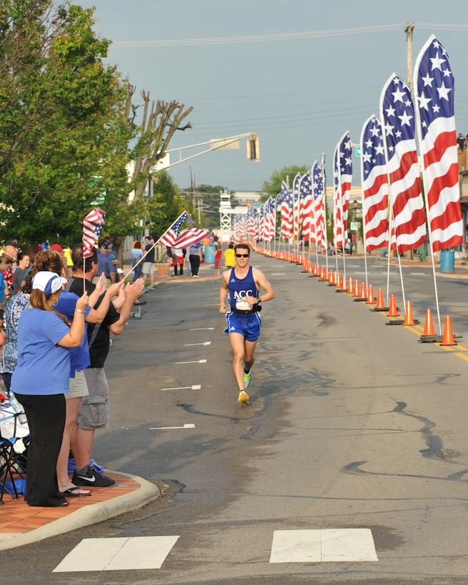 Scenes from the 2016 Air Force Marathon weekend at Wright-Patterson Air Force Base, Sept. 15-17. More than 15,000 runners, walkers and spectators from all 50 states and 17 foreign countries gathered to participate in the races 20th year. (U.S. Air Force photo / Brian Duke)