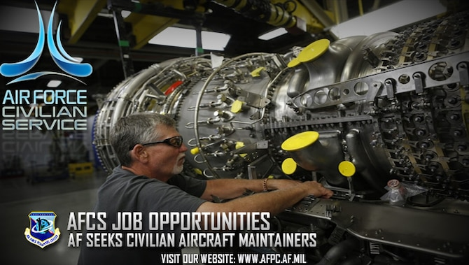 Air force has openings for civilian aircraft maintainers for Air force decoration for exceptional civilian service