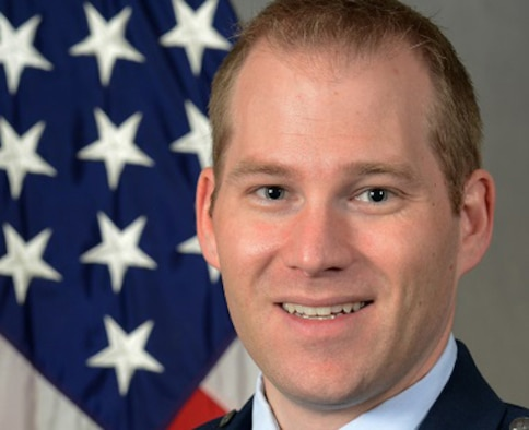 Maj. Nathan Harley Mayenschein, 71st Flying Training Wing Staff Judge Advocate
