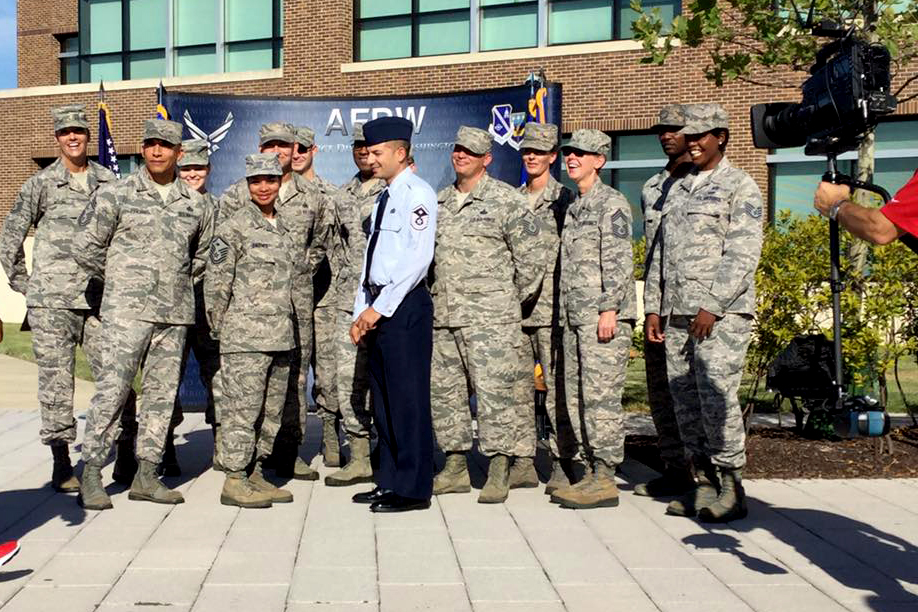 AFDW in action -- Live with Fox5 DC! > Air Force District of