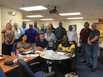 DLA Distribution Norfolk supervisors participating in the Foundations of High Performing Leadership training.