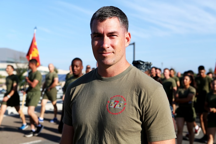 """Marine Captain Kyle Zenor """"I think there is an issue. Just being here we can help everyone at least be aware of the problem so when the time comes they know what to do. They can help if they start to sense something is wrong."""""""