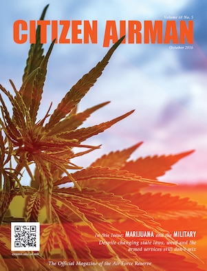 The October issue of Citizen Airman magazine is available at http://www.citamn.afrc.af.mil/. The cover story reminds Reservists that even though state laws regarding marijuana use are changing, weed and the armed forces still don't mix.