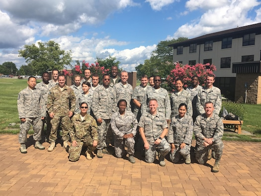 AFMS International Health Specialists at the IHS Orientation course at McGuire AFB, August 2016.