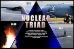 The nuclear triad provides the United States with a safe, effective and ready force to deter attacks and reassure U.S. allies. DoD graphic