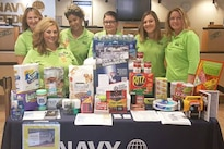 Navy Federal Credit Union supports National Preparedness Month 2016 campaign efforts at Marine Corps Air Station Yuma, Ariz., September 2016. From Sept. 9 to Sept. 12, the base credit union branch featured a Disaster Preparedness Kit -- or 'Go-Kit' -- display. Courtesy photo by Leticia Davis