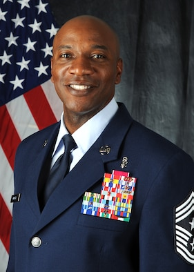 USAFE-AFAFRICA Command Chief Kaleth Wright