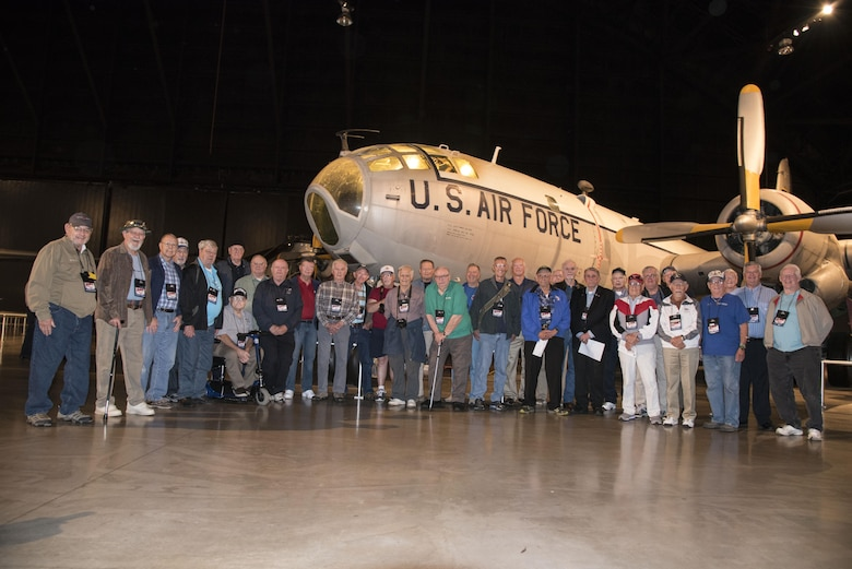 DAYTON, Ohio -- Air Weather Reconnaissance Association Reunion on Sept. 29, 2016 at the National Museum of the U.S. Air Force. (U.S. Air Force photo)