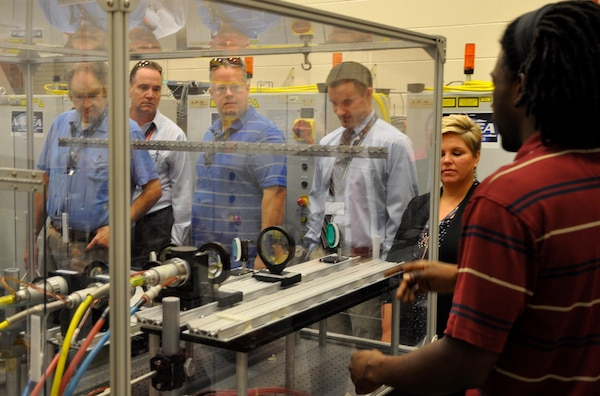 Roger Campbell, an aerospace engineer in the Laser & Optic Systems Branch, provides an overview of the high energy laser lethality lab at the Naval Surface Warfare Center Dahlgren Division.  The laser lethality lab has 44kW laser capability for vulnerability testing and an indoor 100m laser tunnel.